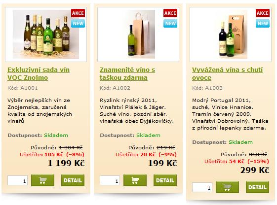 akce vinaři znojmo